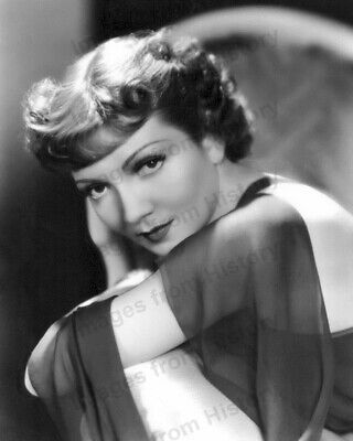 8x10 Print Claudette Colbert Beautiful Portrait #1118