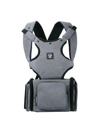 Unihope Best 6-in-1 Baby Carrier and Multi-Function Baby Diaper Bag (Best Baby Bag Backpack)