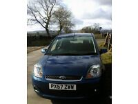 FORD FIESTA. 49,000 miles. 57 plate