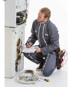 Réparation laveuse sécheuse poêle