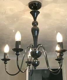 Chandelier style light fitting