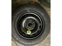 """ford fiesta spare wheel new 14"""""""