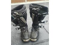Kids child's motocross boots oneal