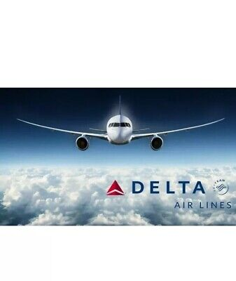 Delta Airlines Gift Card $100 15% OFF! FAST  Physical/Mailed Delivery.