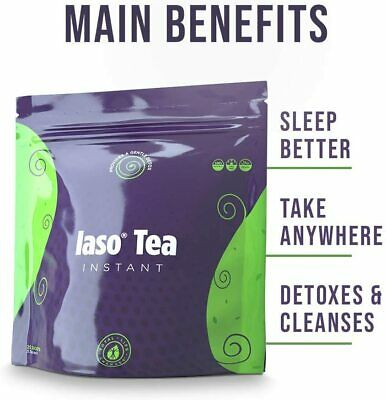 ORIGINAL Total Life Changes (TLC) Iaso INSTANT DETOX TEA - NEW (25 Sachets)