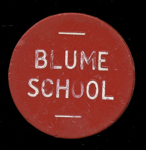 Wapakoneta, OH Ohio  ... Blume School  ...  Good For Complete Lunch (SL-77-105)