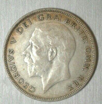 UK British 1933 Half Crown 1/2 .500 Silver