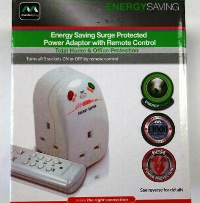 Master Plug Energia Risparmio Potenza Adattatore Telecomando Sovratensione Rete, usado comprar usado  Enviando para Brazil