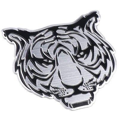 Tiger 3D Aufkleber Sticker Auto Motorrad Tuning Tigerkopf Emblem Chrom Löwe  Tiger Aufkleber