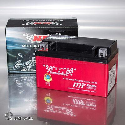 GEL Motorrad Batterie YTX7A-BS GTX7A-BS FTX7A-BS Motorradbatterie  FÜR APRILIA