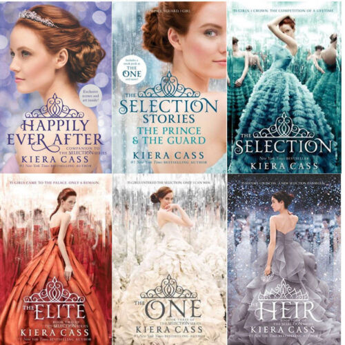 THE SELECTION BOOK SERIES VOLUMES 1-4 PLUS TWO COMPANION NOVELLAS BY KIERA CASS!