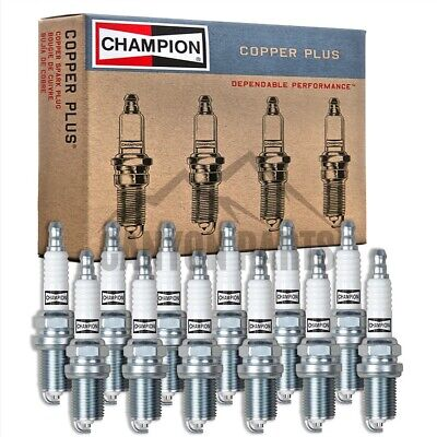 New 12pc Champion Copper Spark Plugs for 2001-2005 MERCEDES-BENZ C320 V6-3.2L