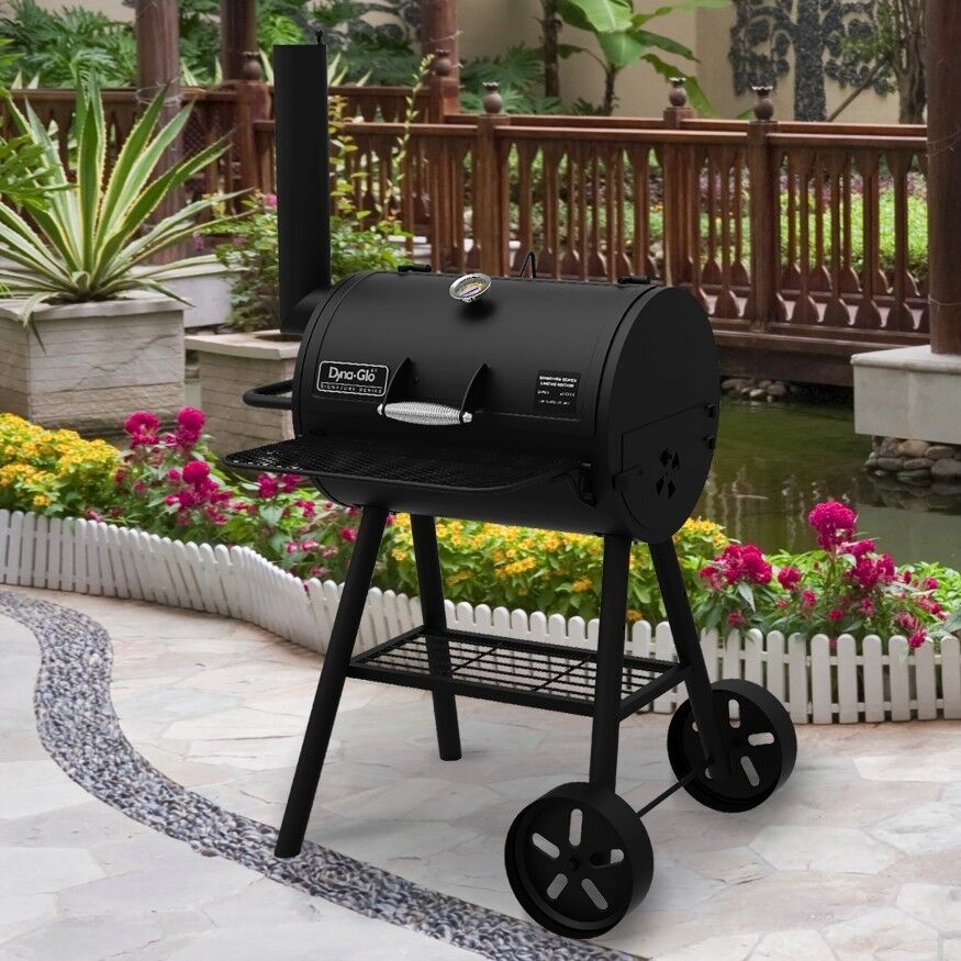 Large Charcoal Grill Portable BBQ Chimney Grilling Outdoor B