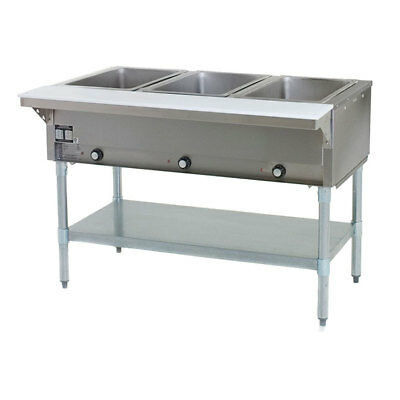 3 Well Commercial Restaurant Electric Steam Table
