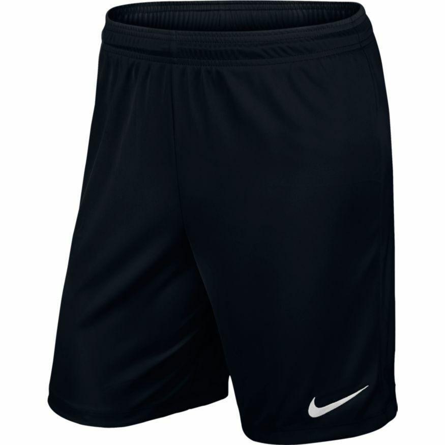 Nike Park II Short Schwarz Black 725887 010 ohne Innenslip Sporthose kurze Hose