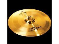 "zildjian 19""a custom rezo crash cymbal,new"