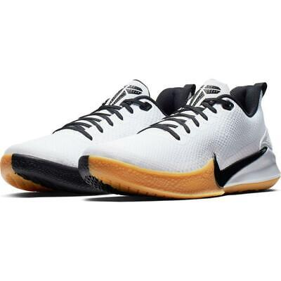 Nike Kobe Bryant Mamba Focus Basketball Shoes Men White Black AJ5899-100 Sz8/8.5