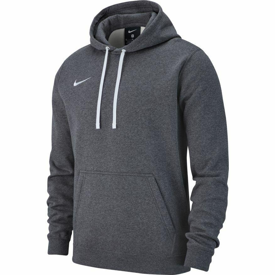 Nike Club19 Fleece Hoody Kapuzenpullover Herren Grau AR3239 071 Pullover Hoodie