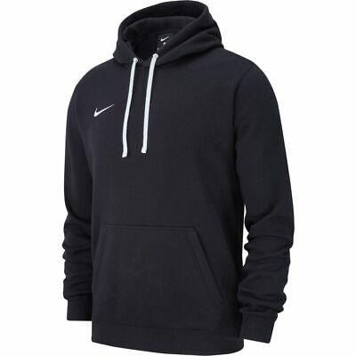 Nike Club 19 Fleece Hoody Kapuzenpullover Herren Schwarz AR3239 010 Pullover  Club Fleece Hoodie