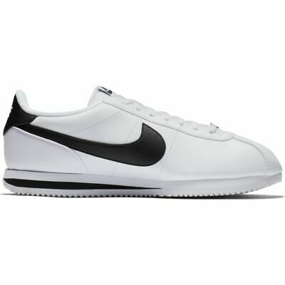 NIKE CLASSIC CORTEZ BASIC LEATHER, 819719-100, MENS SIZES UK 7 - 11,
