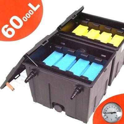 TEICHFILTER KOIFILTER FILTER KOI 60000 L CBF 350 Typ B Wasserfilter Fischteich N