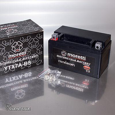 GEL-MORETTI - YTX7A-BS-12V  7Ah   Batterie Motorradbatterie APRILIA FTX