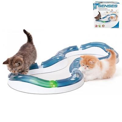 Catit® Design Senses Super Roller Spielschiene + Ball, Katzenspielzeug # 50736