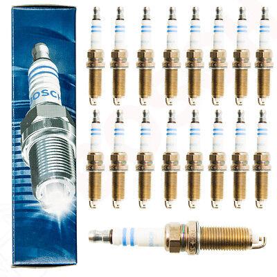 16x Bosch Original Zündkerzen 0 242 230 500 FR8DPP33+ Mercedes-Benz E+S-Klasse