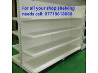 Top Quality Tego/Eden Retail Shop Godola Shelving 1.6m High ONLY £140