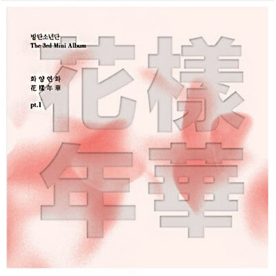 BTS Mini Album Vol. 3 In the Mood for Love pt.1 (Pink) K-POP