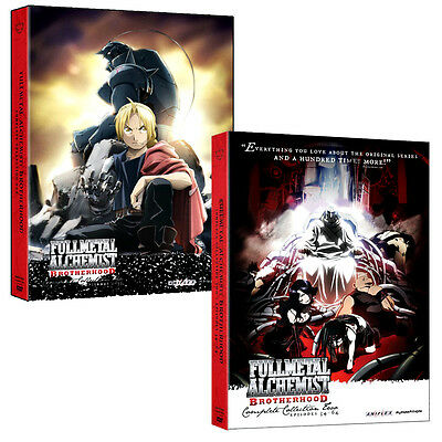 Fma Fullmetal Alchemist  Brotherhood Complete Series Dvd Full Collection 1   2
