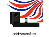 Orbitsound soundbar and subwoofer
