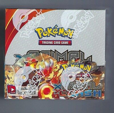 Pokemon Primal Clash XY sealed unopened booster box 36 packs