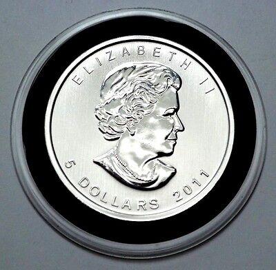 2011 Canada 1 oz Silver Maple Leaf BU SKU #59158