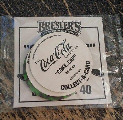 Coca Cola & Breslers Ice Cream Pogs SEALED