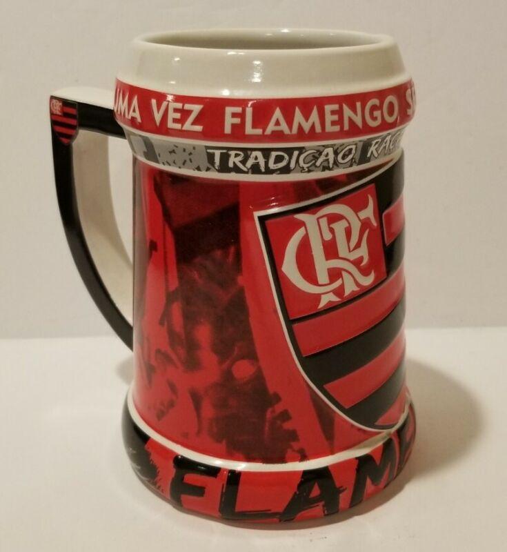 Ceramarte  UMA VEZ FLAMENGO SEMPRE FLAMENGO !  Ceramic Stein  CRF  Soccer
