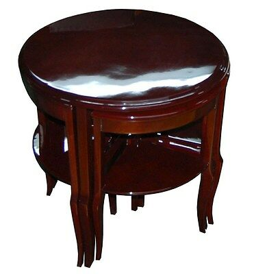 Art Deco Nesting Tables - French Art Deco Nesting Tables #6811