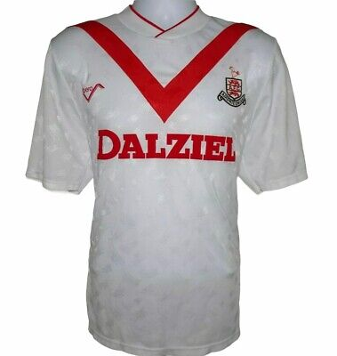 1990-1991 Airdrieonians Home Football Shirt, Ribero, M (Very Good Condition) image
