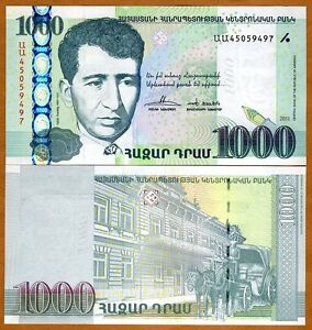 Armenia, 1000 dram, 2011, P-New, UNC