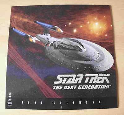 Star Trek: The Next Generation  Kalender von 1999 für Sammler – Poster