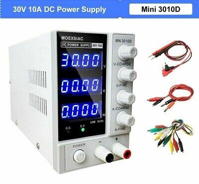 Dc Power Supply Source Adjustable With Led Digital Display Voltage Regulator