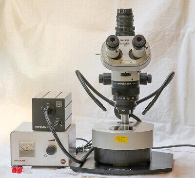 Wild Leica M420 Macroskop Darkfield Fiber Incident Gem Mineral Photography
