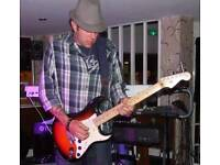 Pro lead guitarist available and looking for gigs