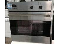 a328 stainless steel bosch integrated single oven comes with warranty can be delivered or collected