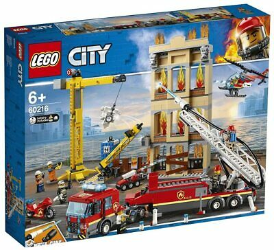 LEGO 60216 - SERIE CITY Missione Antincendio