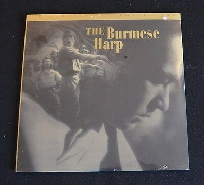 THE BURMESE HARP  Laserdisc The Criterion Collection NEW