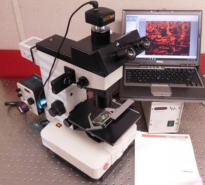 Leitz Wild Fluovert Fu Inverted Fluorescence Phase Microscope