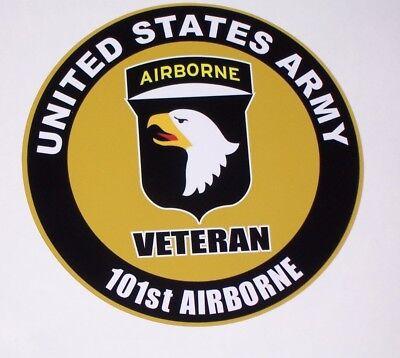 Unites States ARMY Veteran 101st Airborne Truck RV motorhome Window Decal decals