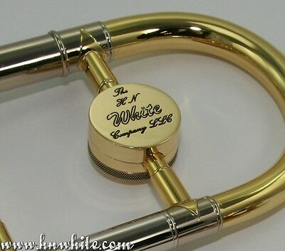 Chrome Bach Trombone Counterweight Used