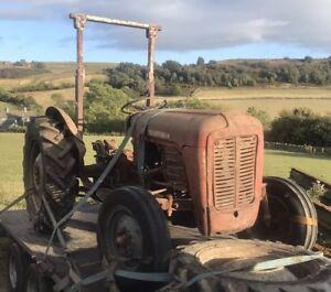1958 massey ferguson 35 tractor Live Drive 4cyl